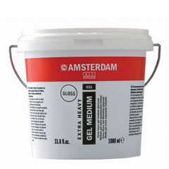 Сјаен медиум AMSTERDAM ekstra HEAVY 1000ml