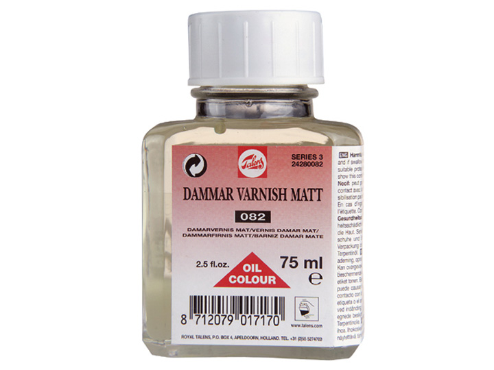 Dammar Маслен лак - мат TALENS 75ml