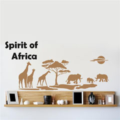 Шаблон за ѕид Home Design BRICO XXL - Spirit of Africa