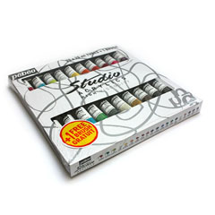 Акрилни бои Studeo ACRYLIC MEDIUM 20x20ml