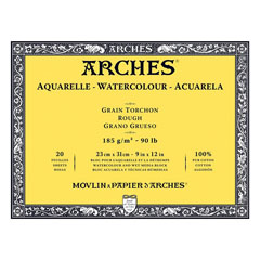 Блок ARCHES® Aquarelle Watercolour Rough - изберете формат