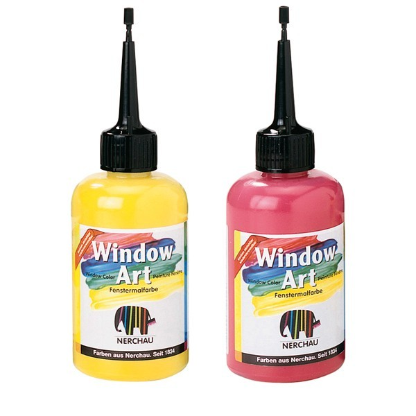 Бои за стакло Window Art 80ml - изберете нијанса