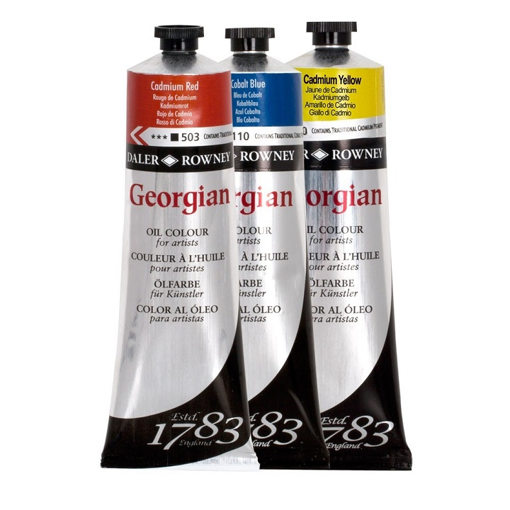 Маслена боја Daler-Rowney GEORGIAN 75 ml - изберете нијанса